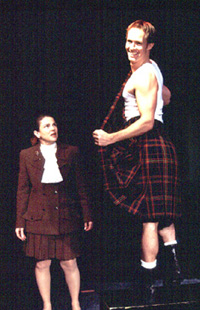 Feldshuh and Chris Payne Gilbert in Kilt(Photo: Carol Rosegg)