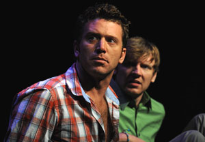 Chad Lindsey and Ian Scott McGregor in
