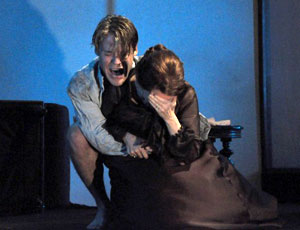 Randy Harrison and Mia Dillon in Ghosts
