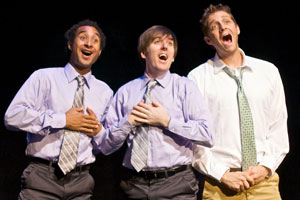 Shane Bland, Dennis O'Bannion, and Colin Hanlon