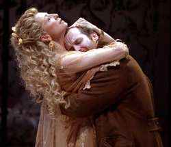 It's Greek to me: Donna Murphy comforts Denis O'Hare (Photo: Michal Daniel)