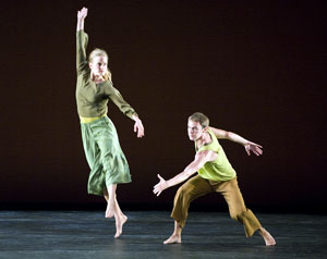 Julie Worden and Noah Vinson in Visitation