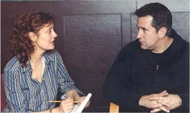 ...and here with Susan Sarandon and Anthony LaPaglia
