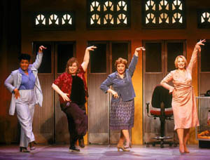 Joy Lynn Matthews, Joyce A. Presutti, Carolann Page,and Mary Jo McConnell in Menopause The Musical(Photo: Carol Rosegg)