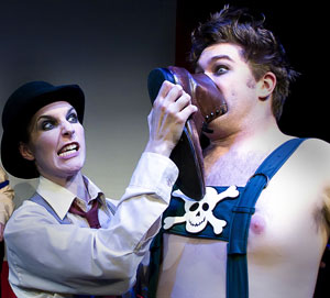 Kim Lyle and Ben Bryant in The Boxer