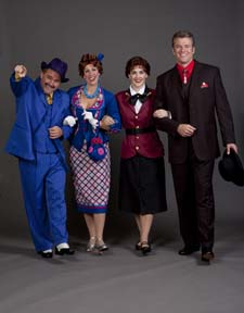 David Foley, Julie Cardia, Kate Fisher,