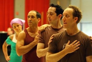 Molly Brennan, Jonathan Brody, Ed Kross, and Joey Slotnick