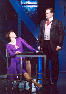 Sutton Foster and Marc Kudischin Thoroughly Modern Millie(Photo: Joan Marcus)