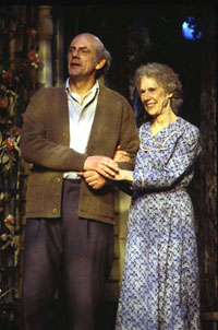 Christopher Lloyd and Frances Sternhagenin Morning?s at Seven(Photo: Joan Marcus)