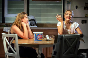 Cassie Beck and Jennifer Mudge in OOHRAH!