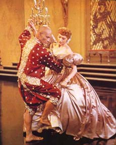 Yul Brynner and Deborah Kerr inthe film version of The King and I