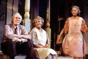 William Biff McGuire, Estelle Parsons, and Elizabeth Franzin Morning's at Seven(Photo: Joan Marcus)