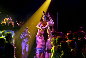 A scene from The Donkey Show