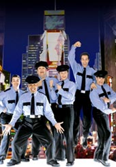 The current cast ofThe Full Monty