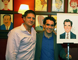 Christopher Sieber and Brian d'Arcy James (© Tristan Fuge)