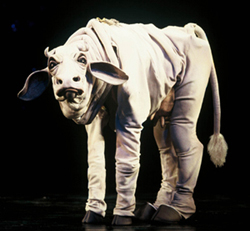 Call my agent!Chad Kimball as Milky-White in Into the Woods