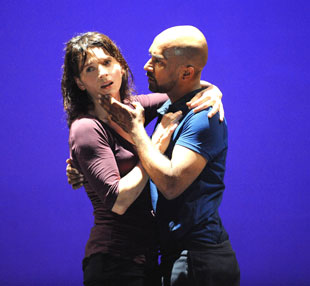 Juliette Binoche and Akram Khan in In-I