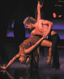 Peta Murgatroyd and Damian Whitewood