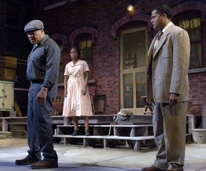 John Beasley, Crystal Fox, and Brandon J. Dirden