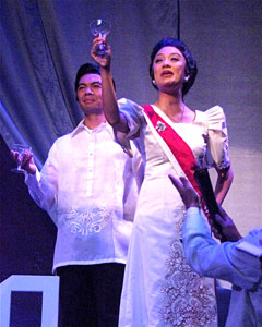 Mel Sagrado and Jaygee Macapugay in Imelda