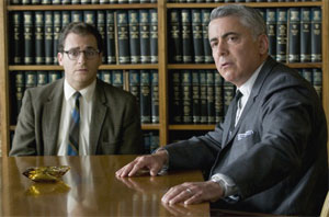 Michael Stuhlbarg and Adam Arkin in A Serious Man