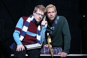 Anthony Rapp and Adam Pascal in Rent