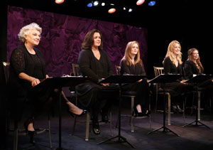 Tyne Daly, Rosie O'Donnell, Samantha Bee, Katie Finneran