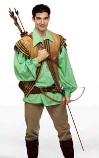 Jeff Irving as Robin Hood