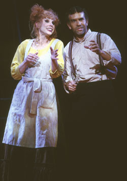 Christine Baranski and Brian Stokes Mitchellin Sweeney Todd(Photo: Joan Marcus)