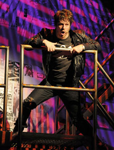 John Gallagher, Jr. in American Idiot
