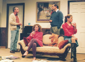 Neil Stewart, Natalie Brown, Stephen Russell, and Debra Wise