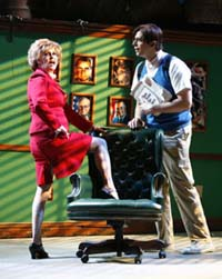 Nancy Opel and Nick Cordero