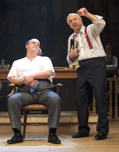 David Troughton and Kevin Spacey