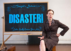 Veanne Cox in A Disaster Begins