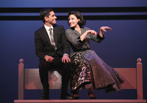 John Stamos and Gina Gershon in Bye Bye Birdie