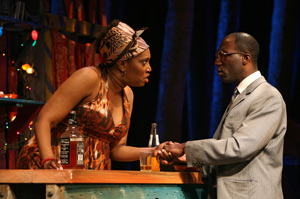 Saidah Arrika Ekulona and Russell G. Jones in Ruined