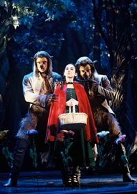 Molly Ephraim, Gregg  Edelman,and Christopher Sieber in Into the Woods(Photo: Joan Marcus)
