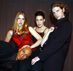 The cast of Sex! The Musical