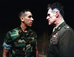 Robert Montano and Michael Cullen in One Shot, One Kill