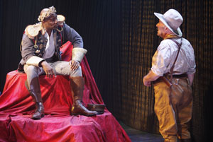 John Douglas Thompson and Rick Foucheux