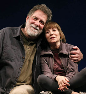 Richard Masur and Alice Playten in The Oldsmobil