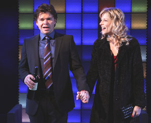 Hunter Foster and Lisa Brescia in Ordinary Days