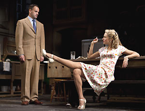 Jonny Lee Miller and Sienna Miller in After Miss Julie