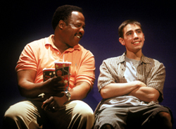 Nobbs with Isiah Whitlock, Jr. in Four