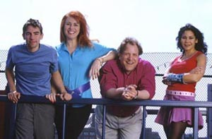 Nobbs, Debbie Gravitte, Robert Ari, and Daphne Rubin-Vegain a publicity shot for Free to Be...You and Me(Photo: Joan Marcus)
