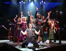 A scene from Rock of Ages (© Joan Marcus)