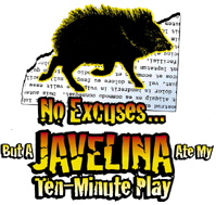 The logo for the year 2000 edition  of the Actors Theatre of  Louisville's National Ten-Minu