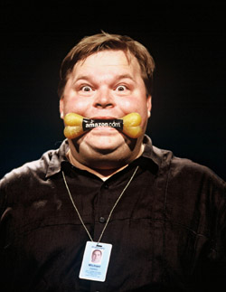 Mike Daisey in 21 Dog Years(Photo: Melanie Grizzel)