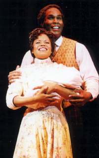 Nikki Renée Daniels and Allan H. Green in Ragtime at North Shore Music Theatre