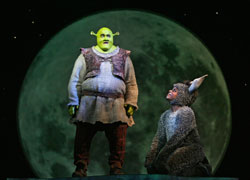 Brian d'Arcy James and Daniel Breaker in Shrek